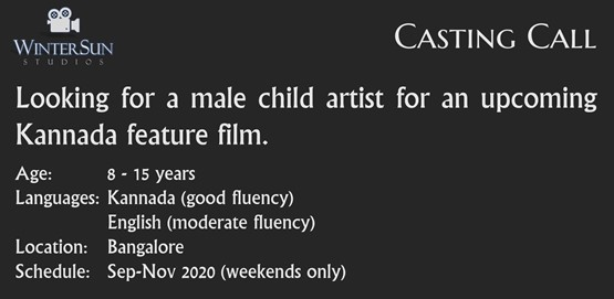 Casting Call Male Child