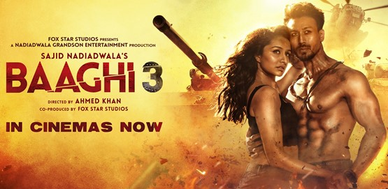 Baaghi 3 Movie Poster